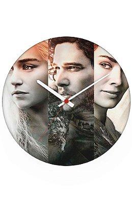 Relógio de Parede Game of Thrones - Serie