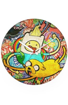 Relógio de Parede Adventure Time