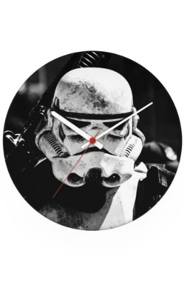 Relógio de Parede Star Wars - Stormtrooper Dark