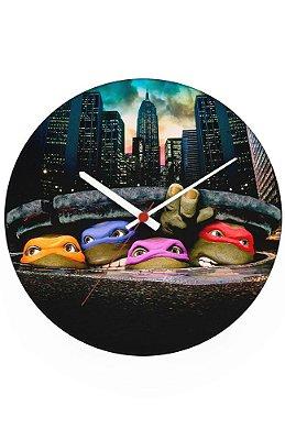 Relógio de Parede Tartarugas Ninjas