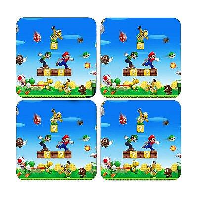Porta Copos Super Mario e Luigi