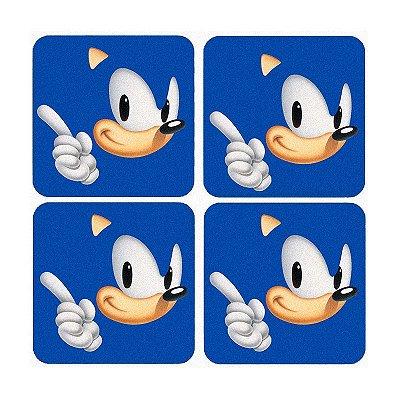 Porta Copos Sonic - Game