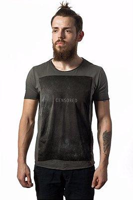 Camiseta Estonada Corte a Fio Censored