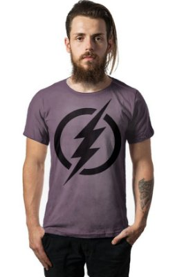 Camiseta Estonada Flash - Simbolo