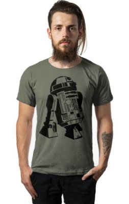 Camiseta Estonada Star Wars - R2-D2