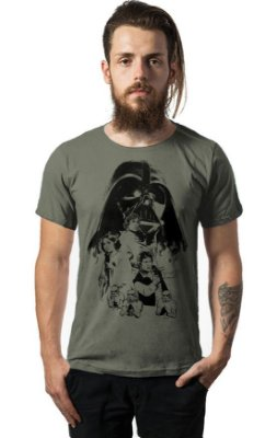 Camiseta Estonada Star Wars - Darth Vader