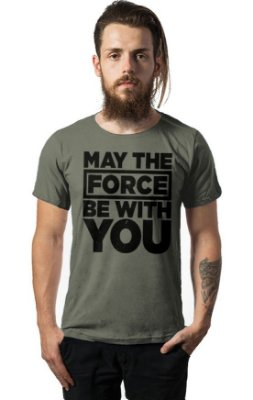 Camiseta Estonada Star Wars - The Force
