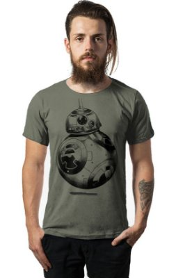 Camiseta Estonada Star Wars - BB-8