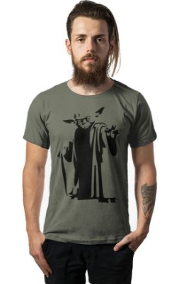 Camiseta Estonada Yoda - Star Wars