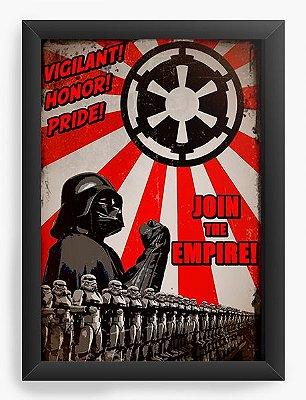 Quadro Decorativo Darth Vader Empire