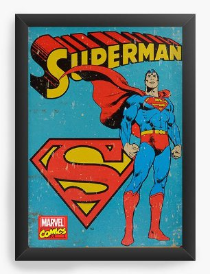 Quadro Decorativo Superman