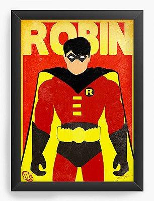 Quadro Decorativo Robin
