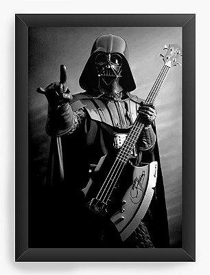Quadro Decorativo Darth Vader - Rock