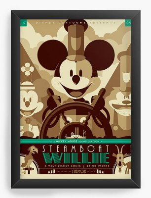 Quadro Decorativo Mickey