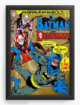 Quadro Decorativo Batman - The Brave