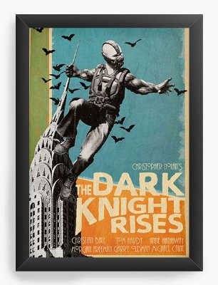 Quadro Decorativo The Dark Knight