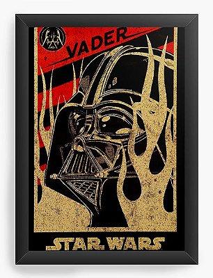 Quadro Decorativo Darth Vader Star Wars