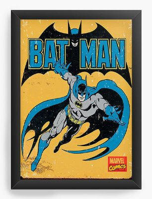 Quadro Decorativo Batman - Marvel