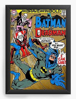 Quadro Decorativo Batman - The Brave