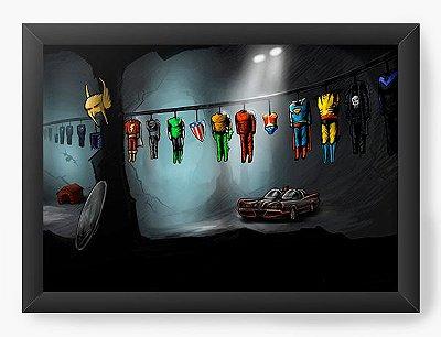 Quadro Decorativo Flash, Lanterna Verde