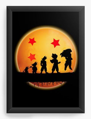 Quadro Decorativo Dragon Ball Z