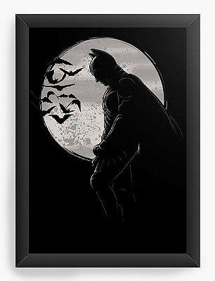 Quadro Decorativo Batman Dark
