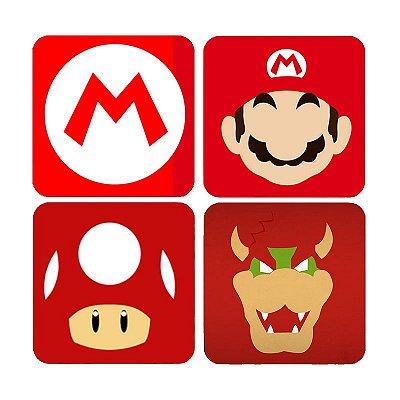 Porta Copos Super Mario Word