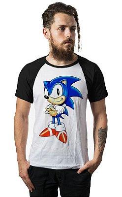 Camiseta Raglan Sonic