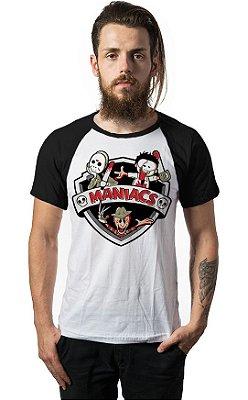 Camiseta Raglan Killers Maniacs