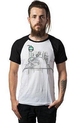Camiseta Raglan Super Mario - Up