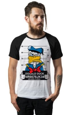 Camiseta Raglan Donald Duck