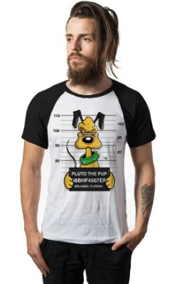 Camiseta Raglan Pluto the Pub