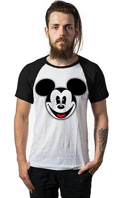Camiseta Raglan Mickey