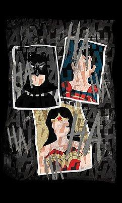 Camiseta Batman, Mulher Maravilha and Superman