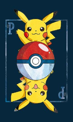 Camiseta Pikachu Carta - Pokemon