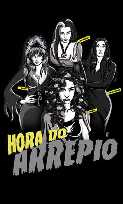 Camiseta Hora do Arrepio