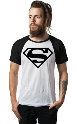 Camiseta Raglan Superman