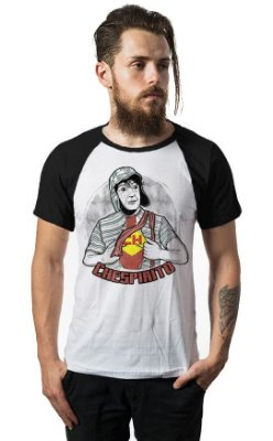 Camiseta Raglan Chespirito -Chaves