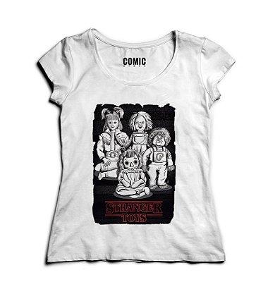 Camiseta Feminina Stranger Toys