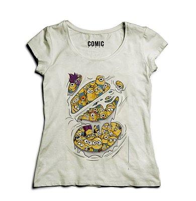Camiseta Feminina Minions