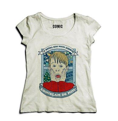 Camiseta Feminina Esqueceram de Mim