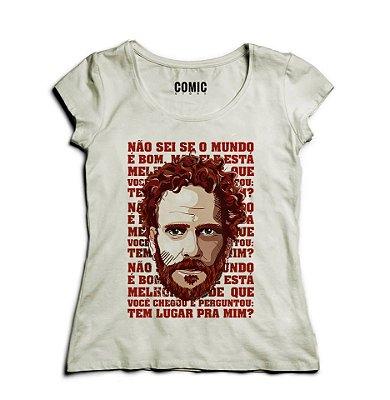 Camiseta Feminina Nando Reis
