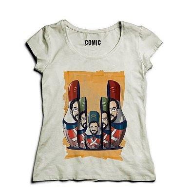 Camiseta Feminina Renato Russo