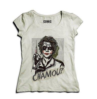 Camiseta Feminina Chamou ?