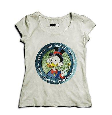 Camiseta Feminina Pato Donald