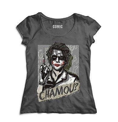Camiseta Feminina Coringa - Chamou ?