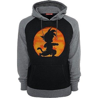 Blusa com Capuz Dragon Bal Goku