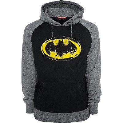 Blusa com Capuz Batman - Simbolo