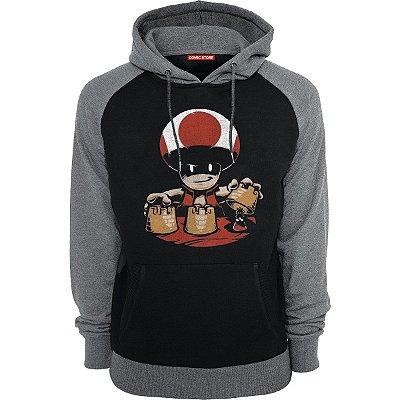 Blusa com Capuz Toad Evil