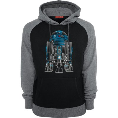 Blusa com Capuz Star Wars R2-D2